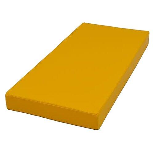 Спортивный мат 1000х500х100 мм КМС № 1 желтый