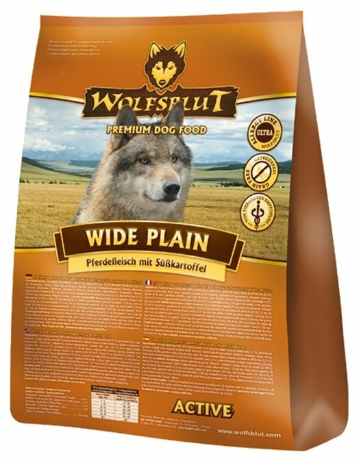 Корм для собак Wolfsblut Wide Plain Active