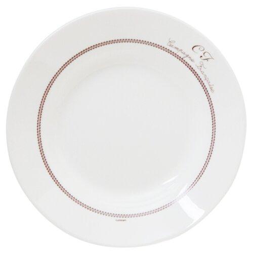 Luminarc Тарелка суповая Broderie 22 см белый тарелка суповая luminarc amely 22 см