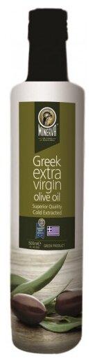 MINERVA Масло оливковое Greek Extra Virgin, стеклянная бутылка