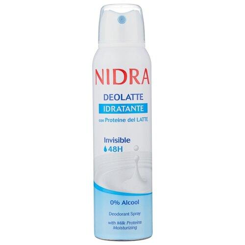 Дезодорант спрей Nidra Deolatte Idratante с молочными протеинами, 150 млДезодоранты<br>