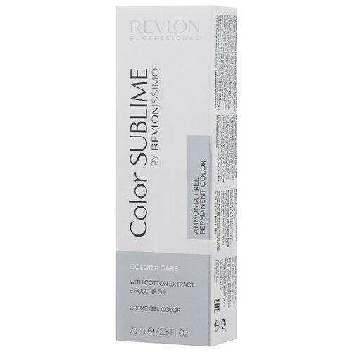 Revlon Professional Revlonissimo Color Sublime стойкая краска для волос, 75 мл, 9.2 очень светлый блондин перламутровый холодный светлый блондин