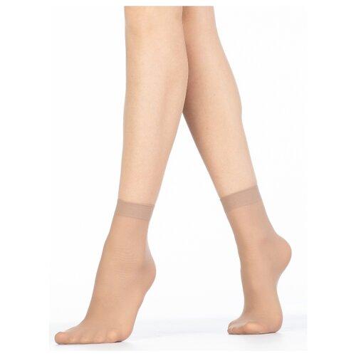 Капроновые носки Golden Lady Mio 40 Den, 2 пары, размер 0 (one size), melon