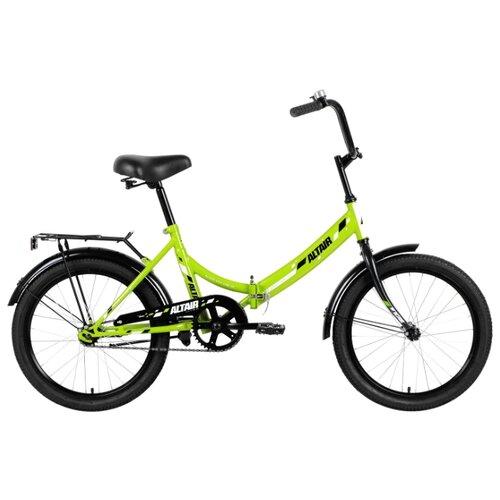 Городской велосипед ALTAIR City 20 (2019) зеленый 14 (требует финальной сборки) велосипед двухколесный altair city 20 колесо 20 рама 14 белый