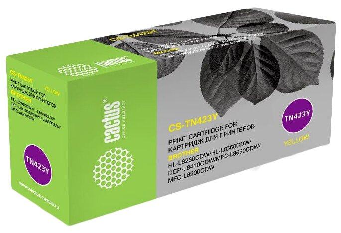 Картридж cactus CS-TN423Y, совместимый — купить по выгодной цене на Яндекс.Маркете