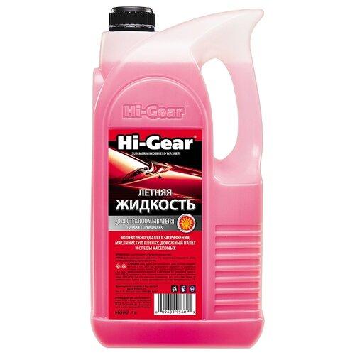 Жидкость для стеклоомывателя Hi-Gear HG5687, 4 л