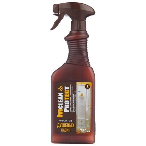 IVIclean спрей для душевых кабин Protect 0.75 л iviclean гель для душевых кабин и акриловых ванн protect 1 л