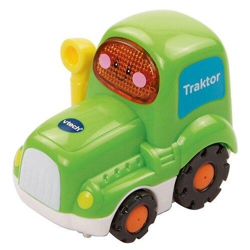 Трактор VTech Бип-Бип Toot-Toot Drivers (80-127726) зеленый машинка vtech бип бип toot toot drivers 80 180326 27 5 см голубой
