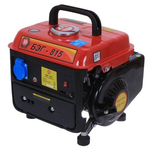 цена на Бензиновый генератор КАЛИБР БЭГ-815 (500 Вт)
