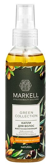 Markell Green Collection Капли для волос восстанавливающие