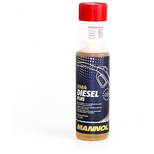 Mannol Diesel Plus 0.25 л mannol motor doctor 0 35 л