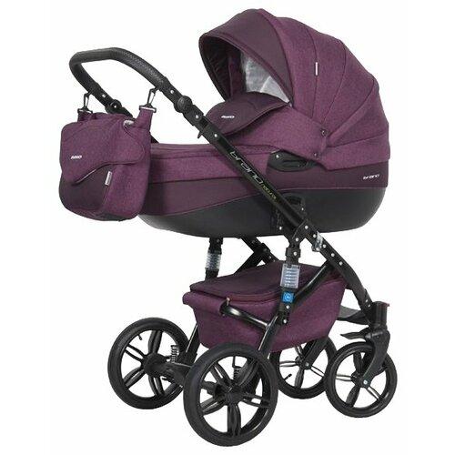 Купить Универсальная коляска Riko Brano Natural (2 в 1) 03 purple, Коляски