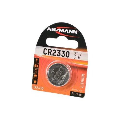 Батарейка ANSMANN CR2330 1 шт блистер батарейка ansmann cr2025 1 шт блистер