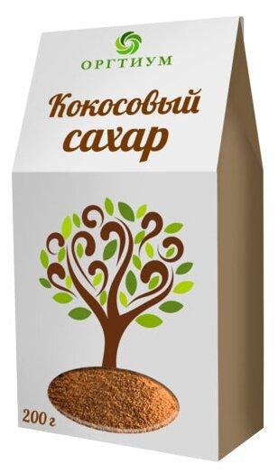 Кокосовый сахар. Оргтиум, 200 г