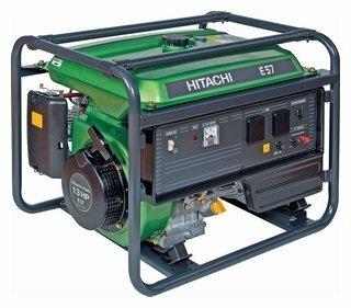 Бензиновый генератор Hitachi E57S (5100 Вт)