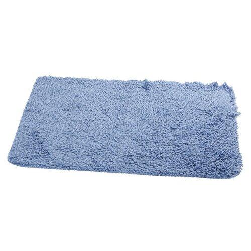 Коврик Aquarius Shaggy, 60х90 см голубой