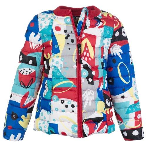 Купить Ветровка playToday размер 104, красный/желтый/голубой, Куртки и пуховики