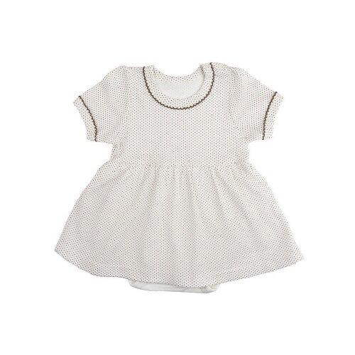 Платье-боди Elaria размер 68, бежевыйПлатья и юбки<br>