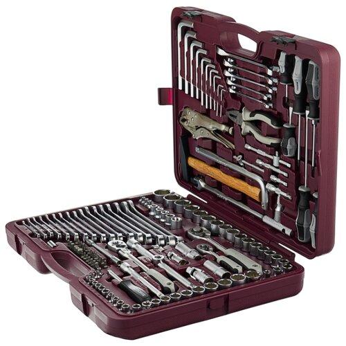 Набор инструментов Thorvik (142 предм.) UTS0142 набор инструментов thorvik 77 предм uts0077 серебристый