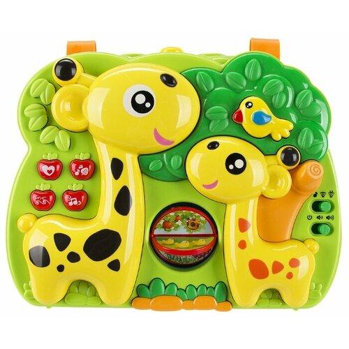 цена Подвесная игрушка Жирафики Жирафики (633051) зеленый/желтый онлайн в 2017 году