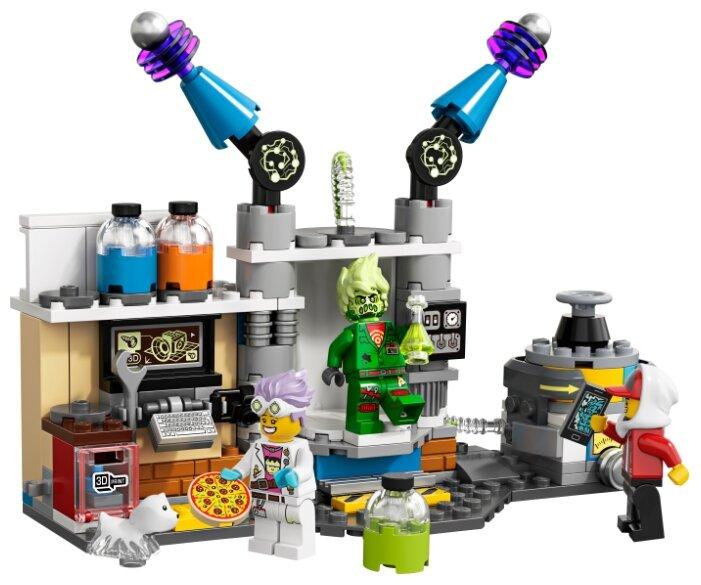Конструктор LEGO Hidden Side 70418 Лаборатория призраков