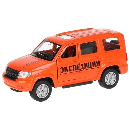 Купить Внедорожник ТЕХНОПАРК УАЗ Patriot Экспедиция (SB-17-81-UP-EX-WB) 12 см оранжевый, Машинки и техника