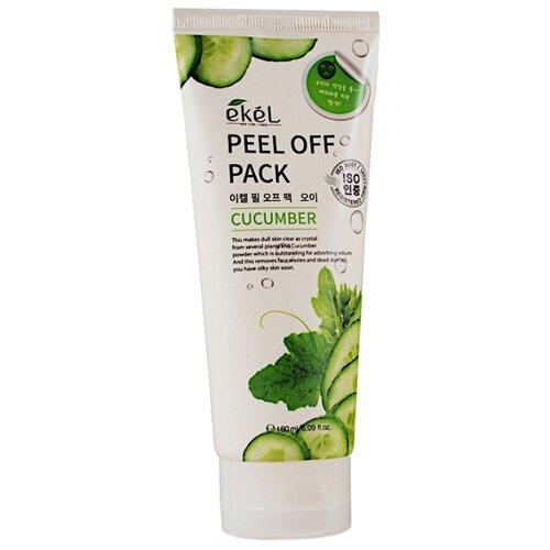 Ekel Маска-пленка Peel Off Pack с экстрактом огурца, 180 мл пленка