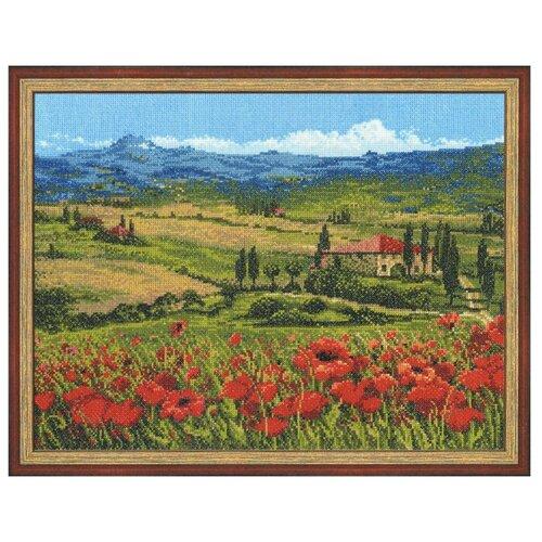 Купить Риолис Набор для вышивания Premium Тоскана 40 х 30 см (100/001), Наборы для вышивания