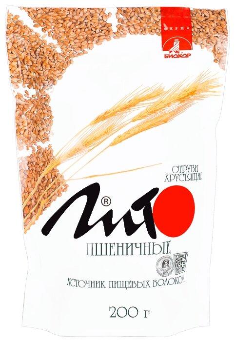 Лито отруби пшеничные хрустящие с кальцием 200г