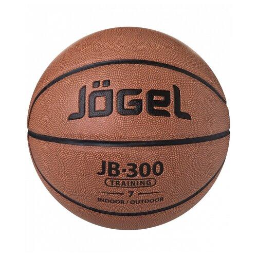 Баскетбольный мяч Jogel JB-300 №7, р. 7 коричневый мяч jogel jb 700 7 ут 00009331