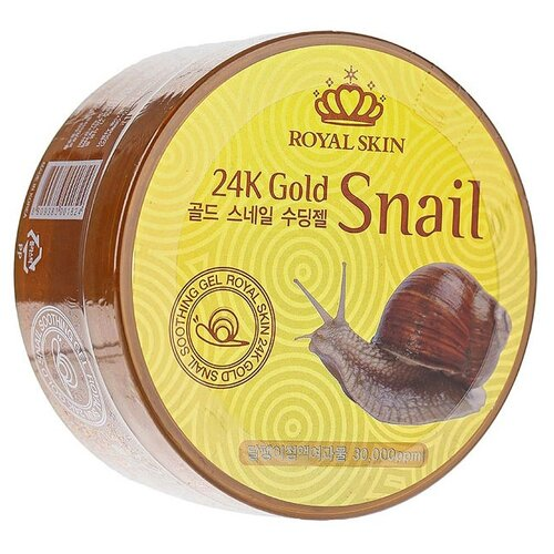 Гель для тела Royal Skin 24K Gold Snail Soothing Gel, 300 мл