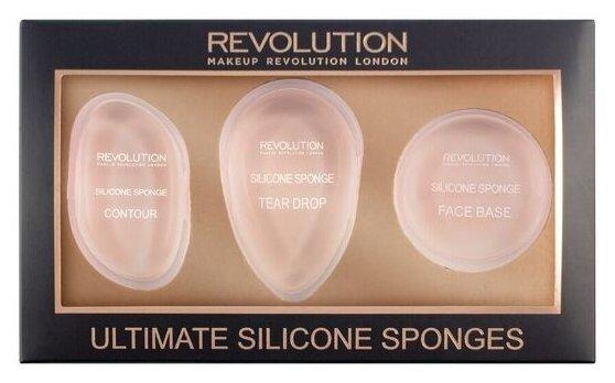 Набор спонжей REVOLUTION Ultimate Silicone Sponge Set, 3 шт.