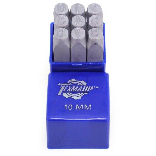 Набор клейм Техмаш 12348 (9 шт.) набор клейм зубр 21501 06 z01 9 шт