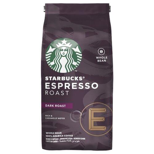 Кофе в зернах Starbucks Dark Espresso Roast, арабика, 200 г