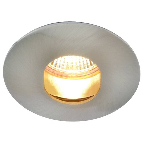 Встраиваемый светильник Arte Lamp Accento A3219PL-1SS, матовое серебро подвесной светильник arte lamp a4081sp 1ss серебристый
