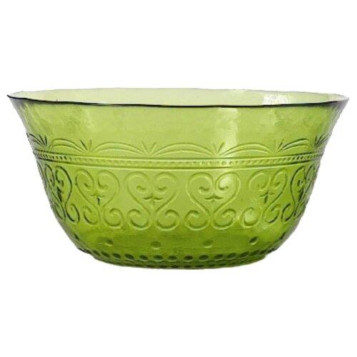Boulanger Салатник стеклянный 15 см зеленый