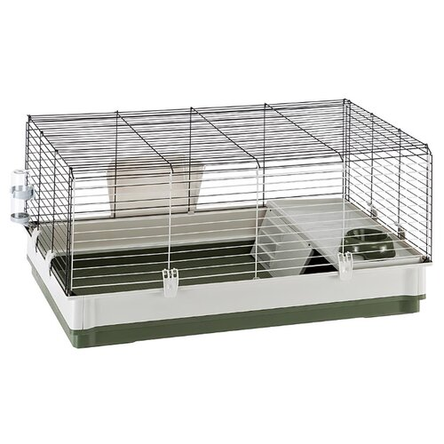 Клетка для кроликов Ferplast Krolik Large 100х60х50 см зеленый