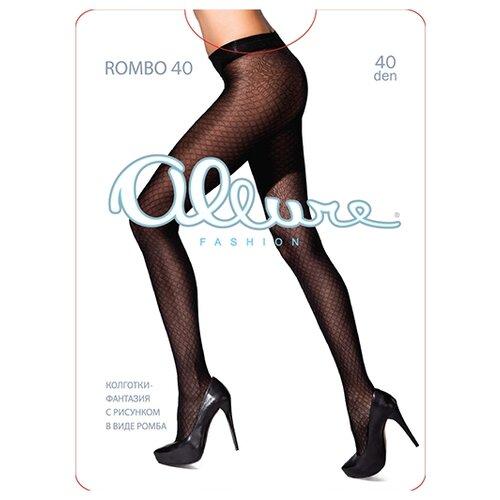 Колготки ALLURE Fashion Rombo 40 den nero 2 (ALLURE)Колготки и чулки<br>