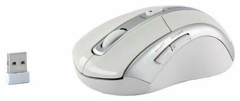Мышь CROWN MICRO CMM-904W Silver-White USB