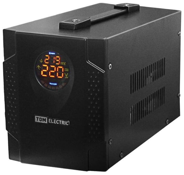 Стабилизатор напряжения однофазный TDM ЕLECTRIC СНС1-1-0,5