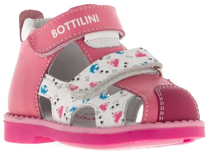 Сандалии Bottilini цвет: розовый, для малышей, размер 19