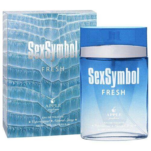 Фото - Туалетная вода Apple Parfums SexSymbol Fresh, 100 мл туалетная вода apple parfums белая роза 100 мл