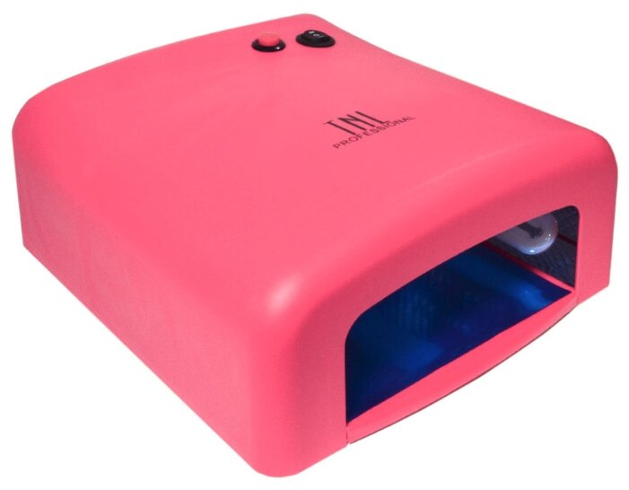 УФ Лампа 36 вт TNL модель 818 таймер на 120 сек. - розовая