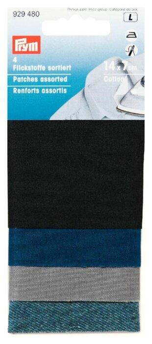 Prym Ткань для заплаток приутюживаемая хлопок 14x7см (4 шт.)
