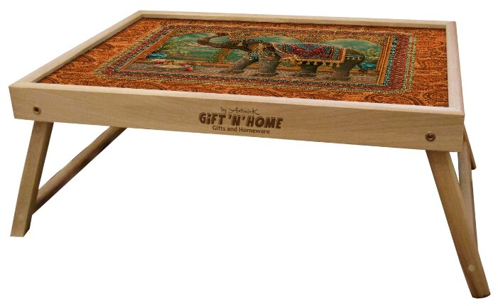 Поднос-столик Gift'n'Home TL-Marakesh(b) оранжевый/коричневый