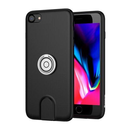 Чехол Baseus Magnetic Wireless Charging Multi-function Case для Apple iPhone 7 Plus/iPhone 8 Plus черныйЧехлы<br>