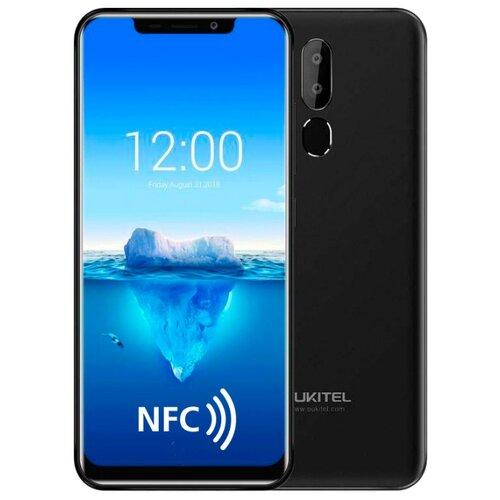 Смартфон OUKITEL C12 Plus черный смартфон