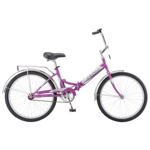 Городской велосипед Десна 2500 лиловый 14 (требует финальной сборки)Велосипеды<br>