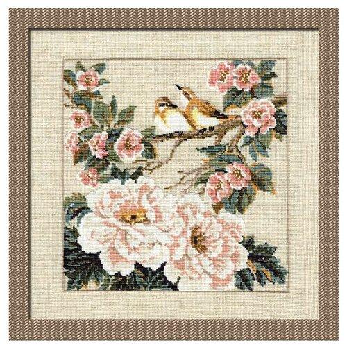 Риолис Набор для вышивания крестом Китайские мотивы. Весна 35 х 35 (486), Наборы для вышивания  - купить со скидкой