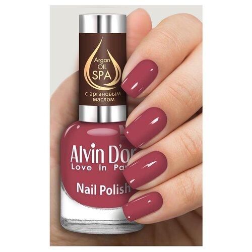 Лак Alvin D'or SPA Argan Oil, 15 мл, оттенок 5026